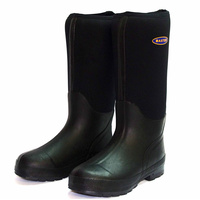 Baxter Snugga Long Black Gumboot