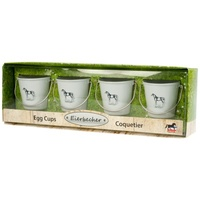 Feed Bucket Design Egg Cups Set of 4