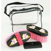 Brush Set Fairy & Pony 4pc set