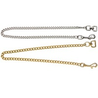 "Brass Show Chain with Snap 18""/46cm"
