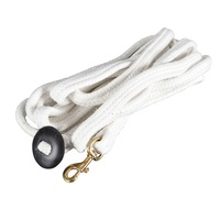 Cotton Lunge Lead with stopper