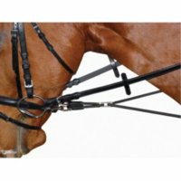 Leather Round Elastic Side Reins