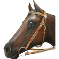 Show Bridle/reins Diamonties Mini