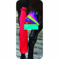 Professionals Choice Lycra Tie in Tail Bag