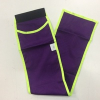 Minicraft Cotton Tail Bag - Purple/Lime