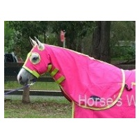 MiniCraft Cotton Hood Hot Pink/Lime/Purple