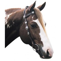 SCALLOPED SILVER BRIDLE