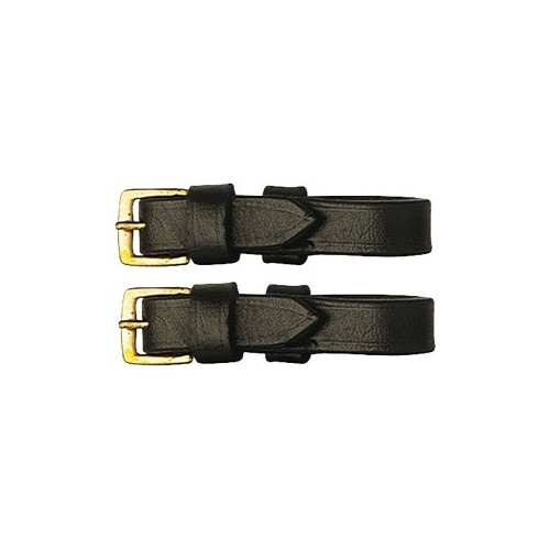 Leather Bit Straps - Brown
