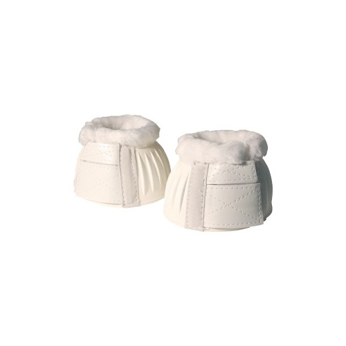 Ribbed Bell Boots with Fleece [SIZE/COLOUR: SMALL - WHITE]