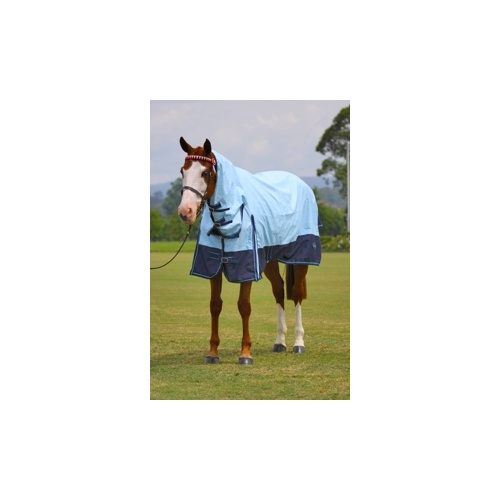 MiniCraft SunBreaker Combo 1200 LIGHT BLUE/NAVY [Rug Size: 5'0]